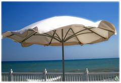 Windy City (i ea sars) Tags: ocean usa naturaleza lake chicago beach nature america umbrella landscape illinois midwest scenery wind natur windy lakemichigan sd10 priroda  proda canondigitalixusi