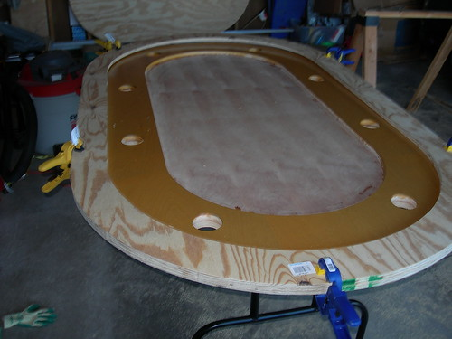 Test fit of rail boards