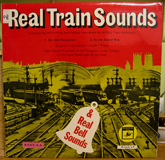 Real Train and Bell Sounds (Bollops) Tags: music vinyl cover lp record albumcover electronic sleeve recordcover