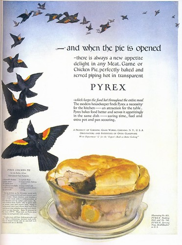 Pyrex Cookware ad, 1924