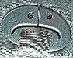 Belt up! (Digger Digger Dogstar) Tags: 2 face pareidolia foundfaces faces batch facialimpressions hiddenfaces accidentalfaces faceit switchface iseefaces inanimatefaces abstractfaces letsfaceit ispyaface friendsofmrperlatore facesoneverydayobjects thingsthatlooklikesmileyfaces
