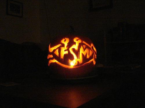 Erin's FSM pumpkin