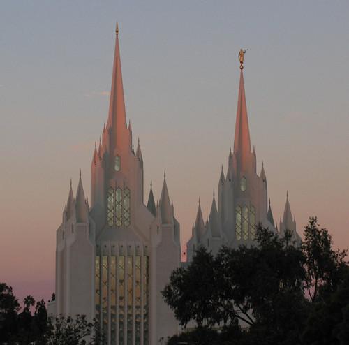 Mormon Temple, La Jolla