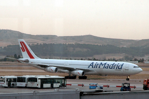 Air Madrid A340