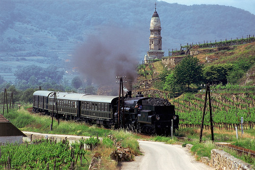 The Majestic Imperator en route in the Wachau, Lower Austria (Austria & central Europe)