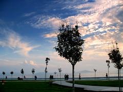 Bostancı seaside (H e r m e s) Tags: park light sky people water canon turkey walking coast seaside istanbul powershot fave ist bostancı a640