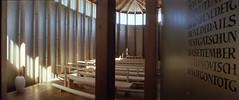 an altar,sunlight,a smell of cattles. (sakaimakiko) Tags: sunlight church architecture horizon alter zumthor sumbitg