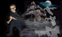 Aavetalo (kosno) Tags: halloween happy linna syksy lapset juhla aave kummitus naamiaiset hirviö syysjuhla