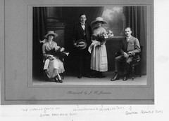 Edward Ainscough marries Elizabeth Potts 1920