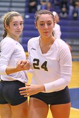 IMG_8062 (SJH Foto) Tags: girls volleyball high school york delone catholic team teen teenager substitution sub rotation