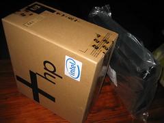 HP Compaq nx6320 arrives