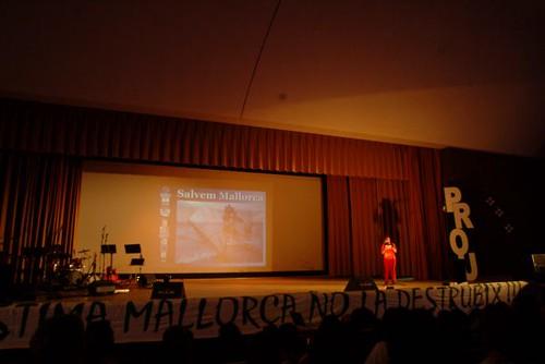 Salvem Mallorca a l'auditori de la Salle