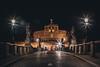 Engelsburg | Castel Sant'Angelo | Rom by Night (stein.anthony) Tags: cityscape cityhighlight city stadt rom italien italy europa nachtaufnahme langzeitbelichtung longexposure brücke bridge architektur architecture nacht gebäude schloss
