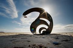 Mary's Shell, Cleveleys (No.1) (nickcoates74) Tags: a6300 beach blackpool cleveleys coast fylde ilce6300 marysshell sony affinityphoto lancashire uk 12mm 12mmf20 samyang