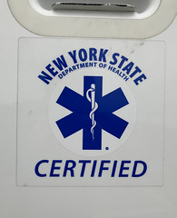 New York State Certified EMS Logo (NY's Finest Photography) Tags: highway patrol state nypd fdny ems police law enforcement ford dodge swat esu srg crc ctb rescue truck nyc new york mack tbta chevy impala ppv tahoe mounted unit rema retired emergency man association sod day remembrance 2018