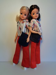 Mix n' Match 1978 (CooperSky) Tags: mix n match 1978 blouse shoulder bag red cotton trousers
