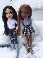 Frostbite 💙❄️ (TwiinsWhoLoveDolls) Tags: 2014 jade fashion tape duct sasha girlz adventure goals 2018 dolls wonderland time winter bratz