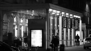 Lyceum at night