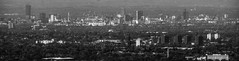 Manchester (Tony Tooth) Tags: nikon d7100 nikkor 55300mm panorama city cityscape citycentre hdr bw blackandwhite monochrome manchester