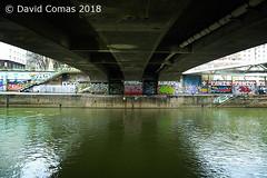 Wien - Donaukanal (CATDvd) Tags: nikond70s austria àustria österreich republicofaustria repúblicadàustria repúblicadeaustria republikösterreich viena vienna wien march2018 catdvd davidcomas httpwwwdavidcomasnet httpwwwflickrcomphotoscatdvd donaukanal danubecanal rio riu river