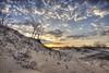 Hiking on the sand dunes at sunrise (jaros 2(Ron)) Tags: sandbanks sandbanksprincialparkontariocanada dunes eastlake nikond800 nikon1635f4 lightroom ndgrad leefilters
