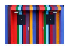 Portes 23-24 (Jean-Louis DUMAS) Tags: color couleur colors art artistic artist artiste artistique arts artdelarue abstract abstrait abstraction