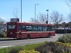 South Wales Transport (First Cymru) 42693 (Welsh Bus 18) Tags: first cymru southwalestransport transbus dart slf pointer 2 42693 cu03bhv swansea