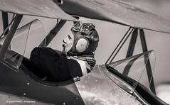 Pilot (Ignacio Ferre) Tags: pilot piloto driver fio fundacióninfantedeorleans lecu cuatrovientos spain españa consolidatedfleet10 aircraft airplane aeronave avión aviation aviación nikon monocromo monocromático bw blancoynegro blackwhite