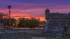 Never Give Up (ProPeak Photography - Thanks for 600,000 views!) Tags: america architecture blue bluehour blueskies buildings castillodesanmarcos clouds famousplace florida fortress green iconic internationallandmark longexposure nationalmonument nationalregisterofhistoricplaces northamerica places red spring staugustine sunset touristattraction traveldestination travelandtourism trees usa unitedstates yellow