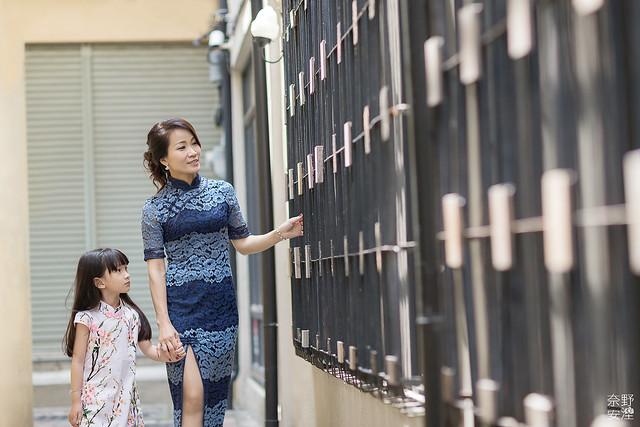 台南親子旗袍寫真 10