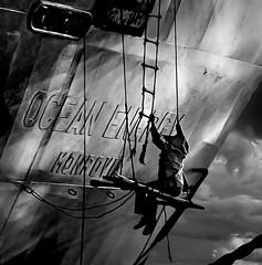 reportage #01 (::: I B :::) Tags: bw monochrome egypt analogic film scan painter ship porto