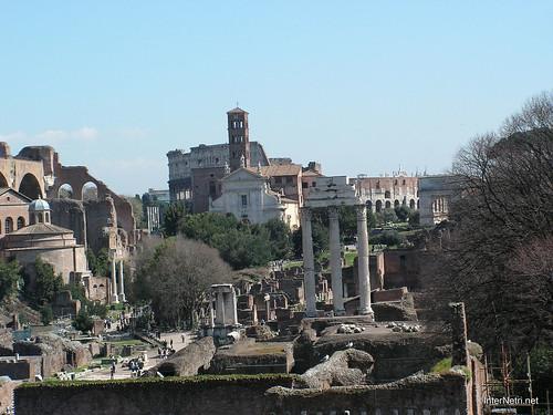 Римський форум, Рим, Італія InterNetri Italy 391