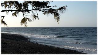 Salish Sea from Cluxewe Resort - 2 (of 3) -  Sony DSC-HX300