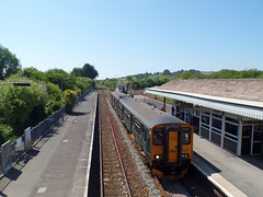 150244 Par (2) (Marky7890) Tags: gwr 150244 class150 sprinter 2p86 par railway cornwall cornishmainline train 153318 153382 class153 supersprinter 2c45