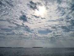 Georgian Bay, Ontario, Canada (duaneschermerhorn) Tags: bay lake water clouds sky blue white