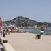 Playa de S'Abanell, Blanes, España