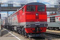 3TE10M-1404 (zauralec) Tags: ржд rzd локомотив тепловоз транспорт станция курган kurgan park station p парк 3te10m1404 1404 3te10m 3тэ10м 3тэ10м1404