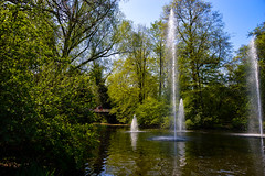 Vondelpark (Claire Louise Beyga) Tags: amsterdam holiday holidays netherlands away getaway love europe easyjet dutch break citybreak summer spring april vondelpark flowers parks gardens animals nature birds heron flower beds n outdoors