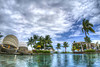 Sofitel Resort and Spa - Lautoka, Fiji (Aperture Life Photography) Tags: sofitel resort spa swimming pool water palm tree fiji lautoka vacation summer beach sand lounge cabana
