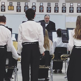 Helping at State Band Festival today in the sight reading room. All the band are fantastic! #bandfestival2018 #schoolmusicprogram #music #keepmusicinschools #thanksmrjforthemusic #all1'sforLCCS