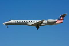 N624AE (Piedmont Airlines) (Steelhead 2010) Tags: americanairlines americaneagle piedmontairlines embraer erj145 erj yyz nreg n624ae