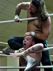 Evolution Wrestling (jacquemart) Tags: evolutionwrestling graysonreeves wrestler wrestling jobber heel ring contest gloucestershire