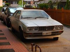 Maserati Biturbo (1987) (maximilian91) Tags: maseratibiturbo maserati oldcars vintagecars italiancars italia italy liguria rapallo