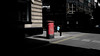Red Pill (Sean Batten) Tags: london england uk city urban streetphotography street postbox red light shadow people nikon d800 35mm proudgallery road charingcross