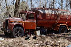 Derelict Tanker Truck (fotofish64) Tags: truck tankertruck fueltruck vehicle commercialvehicle abandoned rural ruraldecay color rust corrosion autograveyard pentax pentaxart kp kmount smcpentaxfa35mmf2 decay abandonedtruck derelict