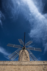 Lord of the clouds (Rainbow 4A) Tags: nikon d810 140240 mm f28 malta gozo mill clouds windmill