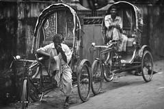 So You Smell Something Fishy Too ! (N A Y E E M) Tags: men rickshaw people candid afternoon street sarsonroad chittagong bangladesh windshield