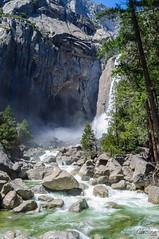 Yosemite NP - 4 (Carolina Hahn) Tags: kalifornien california nature landscape np yosemite waterfall wasserfall