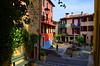 (Jean-Luc Léopoldi) Tags: côtedazur peintureàlhuile place fontaine banc soleil enfants balcons linge