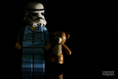 Night Night! HMM (Chrisipe Photography) Tags: macromondays lowkey 14518 kevinthestormtrooper teddy lego canonef100mmf28lisusmmacro hmm canon5dmkiv macromonday macro